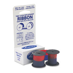 Lathem 7-2CN 72Cn Ribbon, Blue/Red