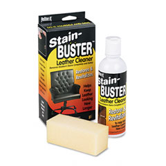 Master Caster 18071 Leather Cleaner W/Synthetic Sponge, Bottle