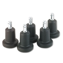 Master caster - bell glides, 100 lbs./glide, black, 5/set, sold as 1 st