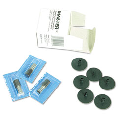 Master Products MP80SET Mp80 Replacement Kit, Three-Drill Style Punches, Six Cutting Disks