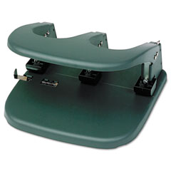 Master Products MP80 Mega-Duty Three-Hole Punch, 80-Sheet Capacity