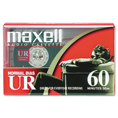 Maxell - dictation & audio cassette, normal bias, 60 minutes (30 x 2), sold as 1 ea