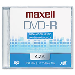 Maxell - dvd-r disc, 4.7gb, 16x, sold as 1 ea