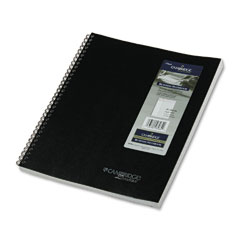 "Mead 06064 Cambridge Wirebound Notebook Planner, Legal Rule, 8 1/2"" X 11"", White, 80 Sheets"