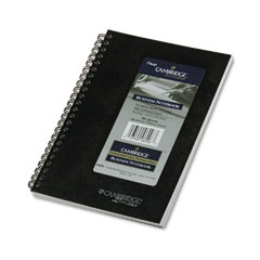 Mead 06096 Cambridge Limited Quicknotes Planner, Ruled, 5 X 8, White, 80 Sheets/Pad