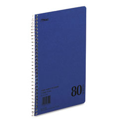 Mead - spiral bound 1 subject notebook, college rule, 6 x 9-1/2, we, 80 sheets/pad, sold as 1 ea