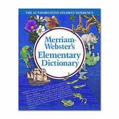 Merriam-Webster 675 Elementary Dictionary, Grades 2-4, Hardcover, 624 Pages