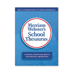 Merriam-Webster 78 School Thesaurus, Grades 9-11, Hardcover, 704 Pages