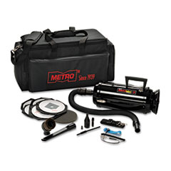 Datavac - esd-safe pro 3 professional cleaning system, w/soft duffle bag case, black, sold as 1 ea