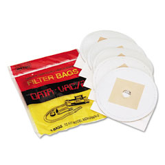 Data-Vac DV-5PBRP Disposable Bags For Pro Cleaning Systems, 5/Pack