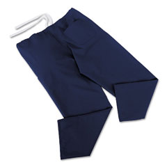 Medline MII900JNTSCM ComfortEase Scrub Pants, Washable, Poly/Cotton, Small, Midnight Blue, 24/Carton