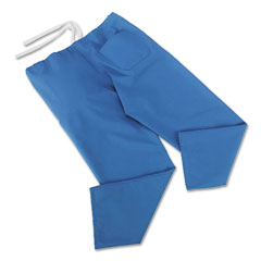 Medline 900JTHS-CM Comfortease Scrub Pants, Washable, Poly/Cotton, Small, Sky Blue