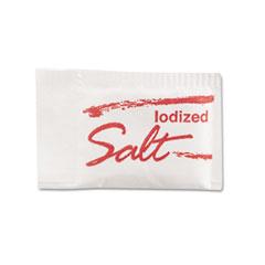 MKL 14609 Salt Packets, .75 Grams, 1000 Packets/Box/3 Boxes/Carton