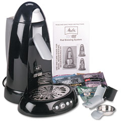 Melitta 66312 One-Cup Coffeemaker, Black