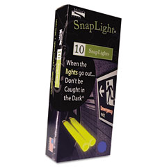 "MLE 151846 Snaplights, 6""L X 3/4""W, Blue, 10/Pack"