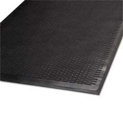 Guardian - cleanstep outdoor rubber scraper mat, polypropylene, 36 x 60, black, sold as 1 ea