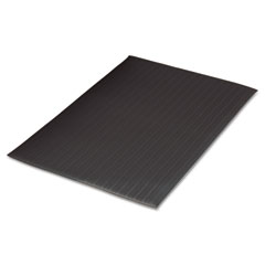 Guardian - air step antifatigue mat, polypropylene, 24 x 36, black, sold as 1 ea