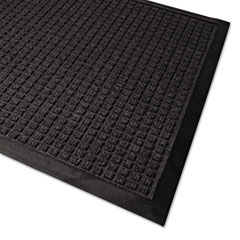 Guardian - waterguard wiper scraper indoor mat, 36 x 60, charcoal, sold as 1 ea