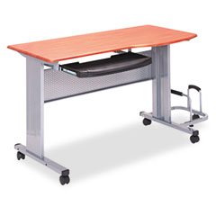 Mayline 8100TDMEC Eastwinds Mobile Work Table, 57W X 23.5D X 29H, Medium Cherry