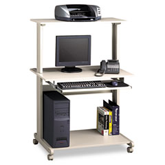 Mayline 8350MRGRYGRY Eastwinds Multimedia Workstation, 36.75W X 21.25D X 50H, Gray/Gray