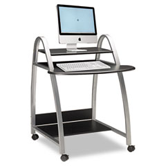Mayline 971ANT Eastwinds Arch Computer Cart, 31.5W X 34.5D X 37H, Anthracite