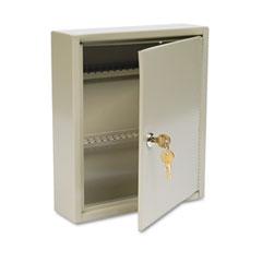 """MMF 2019060A03 Uni-Tag Key Cabinet, 60-Key, Steel, Sand, 10 5/8"""" X 3"""" X 12 1/8"""""""