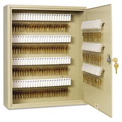 """MMF 201920003 Uni-Tag Key Cabinet, 200-Key, Steel, Sand, 16 1/2"""" X 4 3/4"""" X 20 1/8"""""""