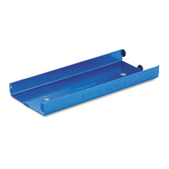 MMF 211010508 Rolled Coin Aluminum Tray W/Denomination & Quantity Etched On Side, Blue