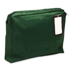 MMF 2342814L02 Expandable Dark Green Transit Sack, 18W X 14H X 4D