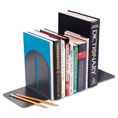 Steelmaster by mmf industries - fashion bookends, 9 x 5 x 7, granite, pair, sold as 1 pr