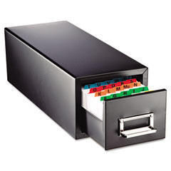 Steelmaster by mmf industries - drawer card cabinet holds 1,500 3 x 5 cards, 7 3/4 x 18 1/8 x 7, sold as 1 ea
