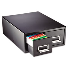 Steelmaster by mmf industries - drawer card cabinet holds 1,500 5 x 8 cards, 10 1/2 x 16 x 8 1/8, sold as 1 ea