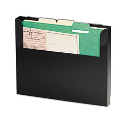 MMF 2712WFBK Steelmaster Add-On Wall File, Letter, Black