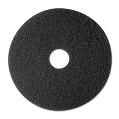 "3M 08374 Stripper Floor Pad 7200, 12"", Black, 5 Pads/Carton"