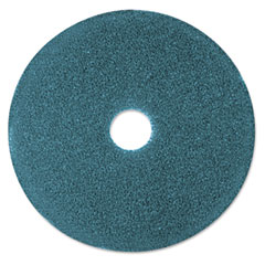 "3M 08405 Cleaner Floor Pad 5300, 12"", Blue, 5 Pads/Carton"