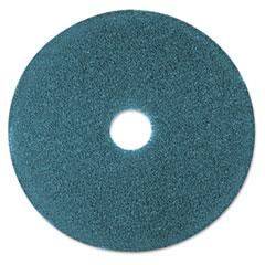 "3M 08405 Cleaner Floor Pad 5300, 12"", Blue, 5 Pads/Carton"