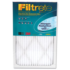 3M/COMMERCIAL TAPE DIV. Filtrete Allergen Reduction Furnace Filter, 20 x 25, 2/Pack, 2 Packs/Carton