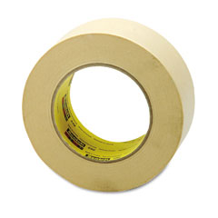 Scotch - high performance masking tape, 2-inch x 60 yards, 3-inch core, tan, sold as 1 rl