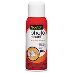 Scotch - photo mount spray adhesive, 10.25 oz, aerosol, sold as 1 ea