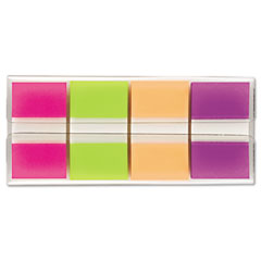 Post-it flags - flags in portable dispenser, bright, 160 flags/dispenser, sold as 1 pk