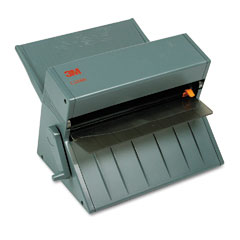 Scotch - heat-free laminating machine, 12-inch wide, 1/10-inch maximum document thickness, sold as 1 ea