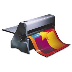 Scotch - heat-free laminating machine, 25-inch wide, 3/16-inch maximum document thickness, sold as 1 ea