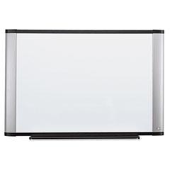 3m - melamine dry erase board, 72 x 48, aluminum frame, sold as 1 ea