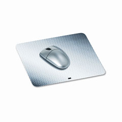 3m - precise mouse pad, nonskid repositionable adhesive back, 8-1/2 x 7, gray, sold as 1 ea