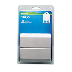 Monarch - refill tags, 1-1/4 x 1-1/2, white, 1000/pack, sold as 1 pk