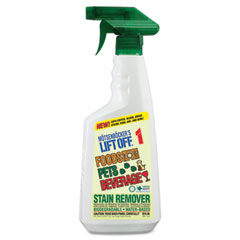 Motsenbocker's Lift Off 40501 No. 1 Food, Drink & Pet Stain Remover, 22 Oz. Spray