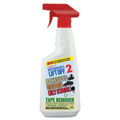 Motsenbocker's Lift Off 40701 No. 2 Adhesive/Grease Stain Remover, 22 Oz. Trigger Spray