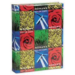 Mohawk 36-101 Color Copy Gloss Paper, 96 Brightness, 32Lb, 8-1/2 X 11, White, 500 Sheets/Ream