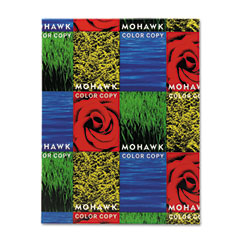 Mohawk 37-101 Color Copy Ultra Gloss Cover, 65 Lbs., 90 Brightness, Letter, White, 250 Sheets