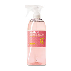 Method 00010 All Surface Cleaner, Pink Grapefruit, 28 Oz., Bottle